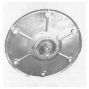 krzyżak wspornika bębna TL 400 i TL 600