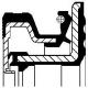simering 60,0x90x14/16,3 IVECO FPM RWDR K7 HS wyższe obroty