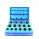 zestaw O-ringów NBR 382 szt. niebieski ST017