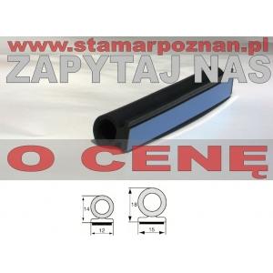 profil okrągły 12x14mm lub 15x18mm samoprzylepny (typ 4)