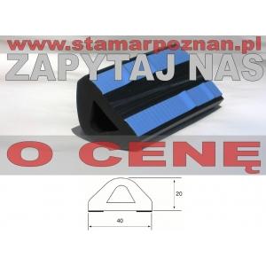 profil 40x20mm samoprzylepny (typ 16)