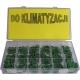 zestaw O-ringów do klimatyzacji (zielony) 270 szt. ST077