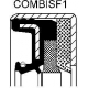 simering 57x73/76x10/13,8 NBR RWDR KOMBI CAT ZF AGRI