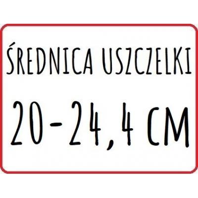 śednica zew. 20 - 24,4 cm